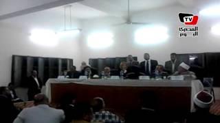 محافظ بني سويف: بوست ايد وزير النقل أمام الوزراء لإنشاء كوبري