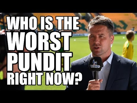 Everyone is a pundit nowadays, but most of them get on our nerves, be it on Sky Sports, BBC or BT Sport, but who is the worst? We rank the top 6 WORST pundits around today! LOVE FOOTBALL?...