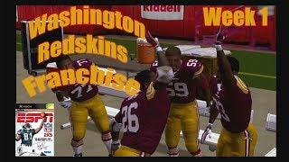 ESPN NFL 2K5 Washington Redskins Franchise Week 1