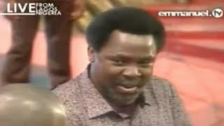 "SCOAN 19/10/14: Sunday Live ""Prophecy Time With TB Joshua"". Emmanuel TV"