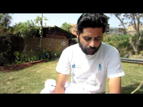 Saurav Dhakal- British Council- International Climate change Speaks