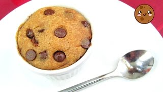 Galleta Chocolate Chip en 1 Minuto!! | Microondas