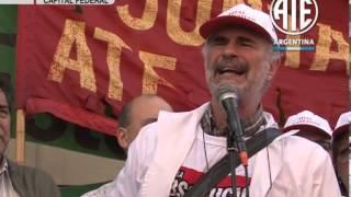 08-04-2013  COMPAÑEROS DEL GARRAHAN CONTRA LA JUDICIALIZACION DE LA PROTESTA