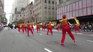 Hispanic Day Parade~2018~NYC~Centro Cultural China Panamera