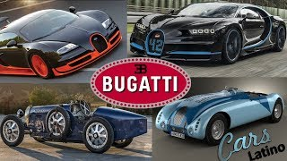 La Increíble Historia de Bugatti *CarsLatino*