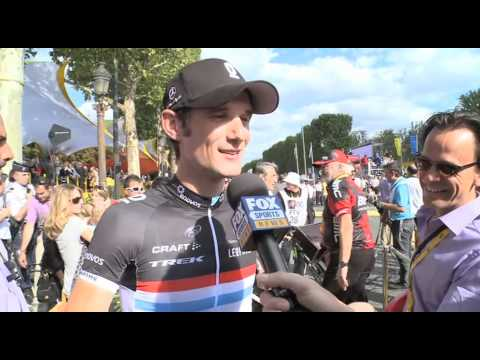 Stage 21 - Frank Schleck 2011 Tour de France