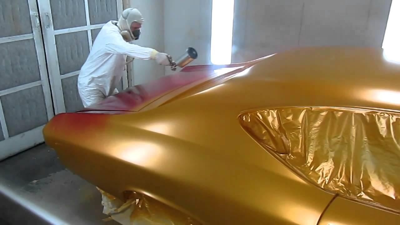 Butterscotch Car Paint