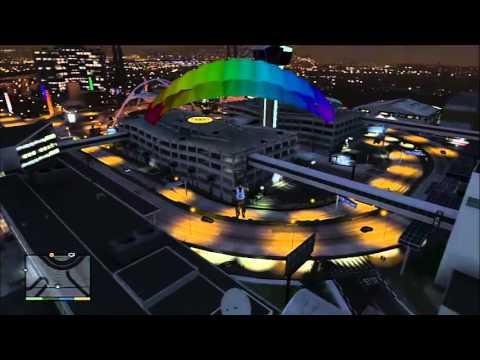 Comment avoir le parachute dans GTA 5 !
