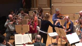 download musica The BSO Rehearsing Mozart With Anne-Sophie Mutter