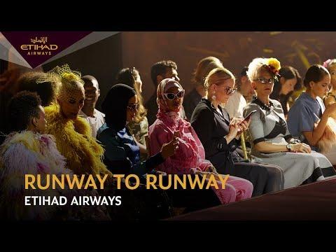 Etihad Airways launches 'runway to runway' fashion film