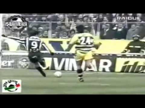 Serie A 1999-2000, day 16 Parma - Juventus 1-1 (Del Piero, Crespo)