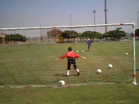 the best goal keeper training