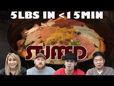 World Record-Setting 5lb Sushi Bowl Challenge - STUFFED Ep. 4