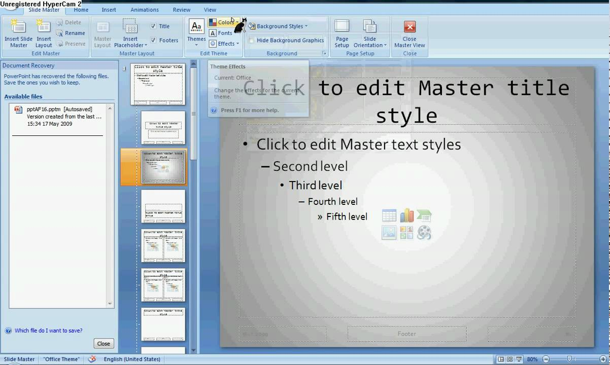 how to put degree sign in powerpoint