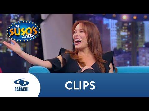 Carolina Acevedo contó por qué de pequeña le decían Carlos | The Suso's Show
