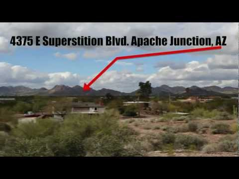 4375 E Superstition Springs Blvd Apache Junction AZ. 17.5 Acres!