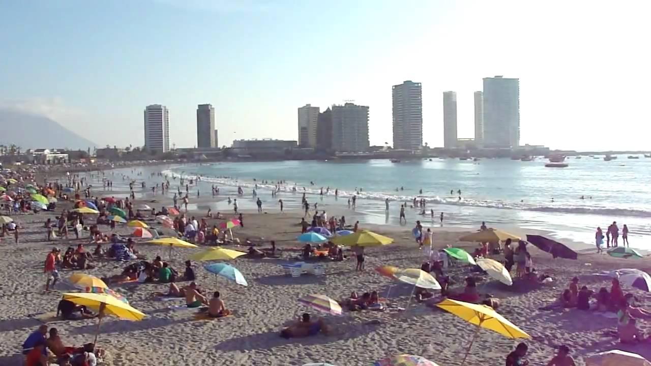 Playa Peruana Iquique Playa Cavancha Iquique