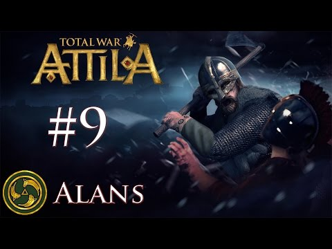 Total War: Attila - Alans - Heavy Losses Have Taken Their Toll