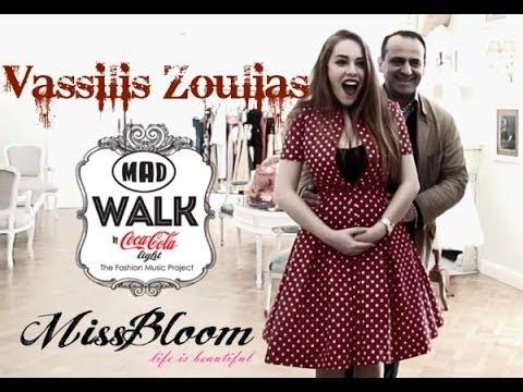Vassilis Zoulias: MissBloom ♡ Madwalk preview by Mara