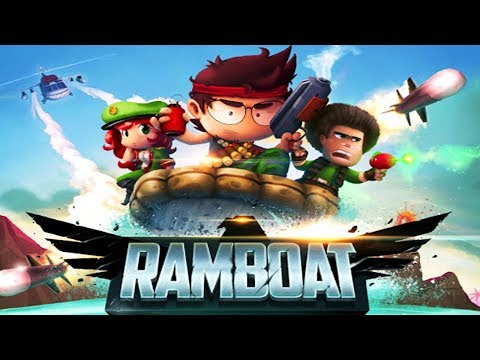 Ramboat Jumping Shooter and Running Game Genera Games Android Gameplay