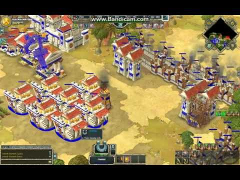 Age of Empire Online Skirmish 1 vs 4 Unstoppable Part 4/6 (11-29-2012)