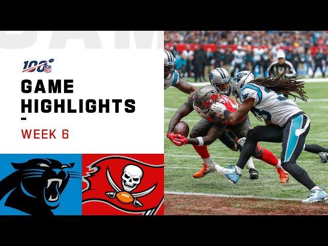 Panthers vs. Buccaneers Week 6 Highlights | NFL 2019 thumbnail