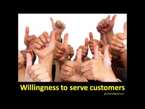 GOOD CUSTOMER SERVICE-GOOD TRAITS OF STAFF