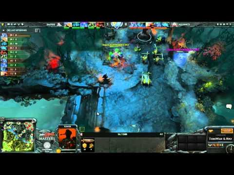 The Alliance vs Team Empire Game 1  joinDOTA Masters Grand Final  TobiWanDOTA RyuUboruZDotA