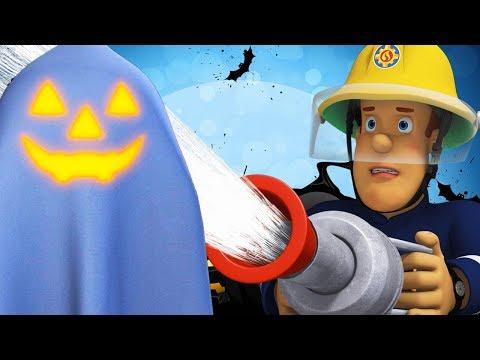 Fireman Sam New Episodes | Ghost Alarm! 👻 Pontypandy's Halloween Party 🔥 Cartoons for Children