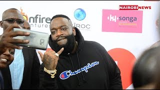 HE IS HERE: Rick Ross in the country ahead of Saturday concert