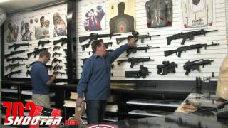 Guns & Ammo Garage - Las Vegas Machine Gun Rental
