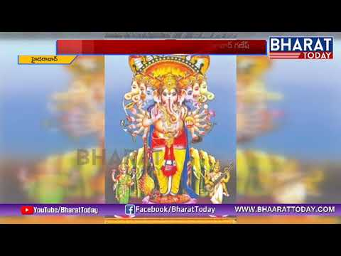 Khairatabad Ganesh 2018 Idol Design | Exclusive | Bharat Today