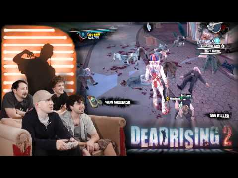 Exploding Zombie Heads! - Dead Rising 2! - Video Games AWESOME!