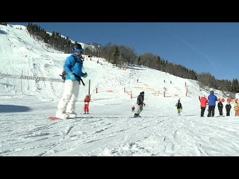 Esquiadores de Méribel chocados com acidente de Schumacher