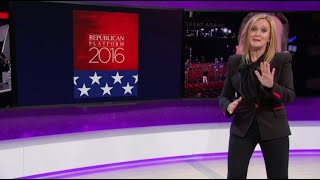 The Platform of Yesterday | Full Frontal with Samantha Bee | TBS