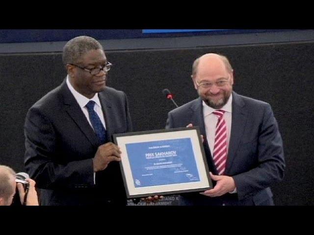 Le très méritant Denis Mukwege reçoit le Prix Sakharov