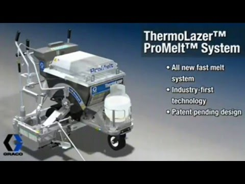 Thermolazer Graco -  traçage thermoplastique TECMAPRO