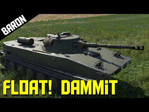 Amphibious Tank, Can't Swim?  Dafuq Stalin!  War Thunder Tank Request!