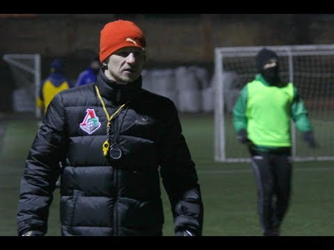 Олександр Алієв проводить тренування ФК Хмельницький / 17 березня 2018 року / Футбол у міжсезоння