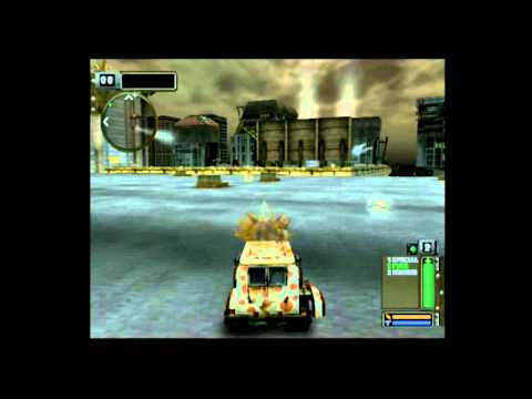 Twisted Metal Black - Stages to Unlock