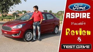 New FORD ASPIRE review : Most detailed review | Aspire 2018 |