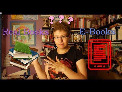 Real Books VS E-Books ??