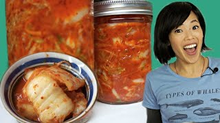 My FAVORITE KIMCHI Recipe - A Small Batch DIY  | FERMENTED