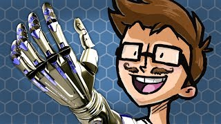 THE FUTURE OF ROBOT HANDS - Cybermotion #18