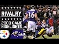 Lagu Santonio Holmes Clinches AFC North by Inches   Steelers vs. Ravens (2008)   NFL