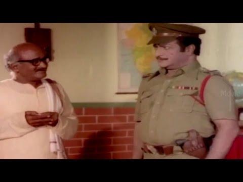 Master Complaint To NTR His Son Behave ||  Kondaveeti Simham Movie || N.T.R, Sridevi