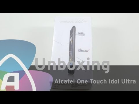 Alcatel One Touch Idol Ultra unboxing (Dutch)