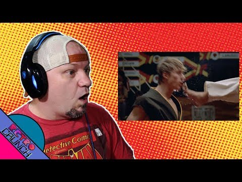 Official Cobra Kai Trailer - The Karate Kid saga continues - REACTION VIDEO!!