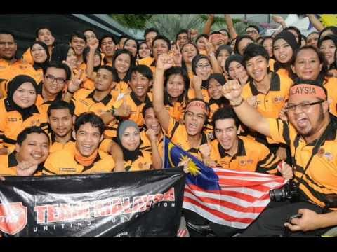 Team Malaysia Theme Song:gemuruh Suara video