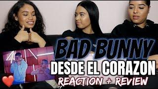 Bad Bunny Desde El Corazón Audio Oficial Reaction Review